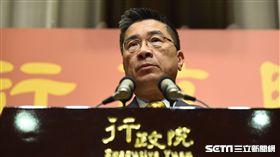 行政院發言人徐國勇23日宣布行政首長人事案。 圖/記者林敬旻攝
