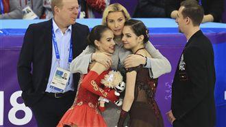 最美的花式滑冰 俄羅斯雙姝摘金銀