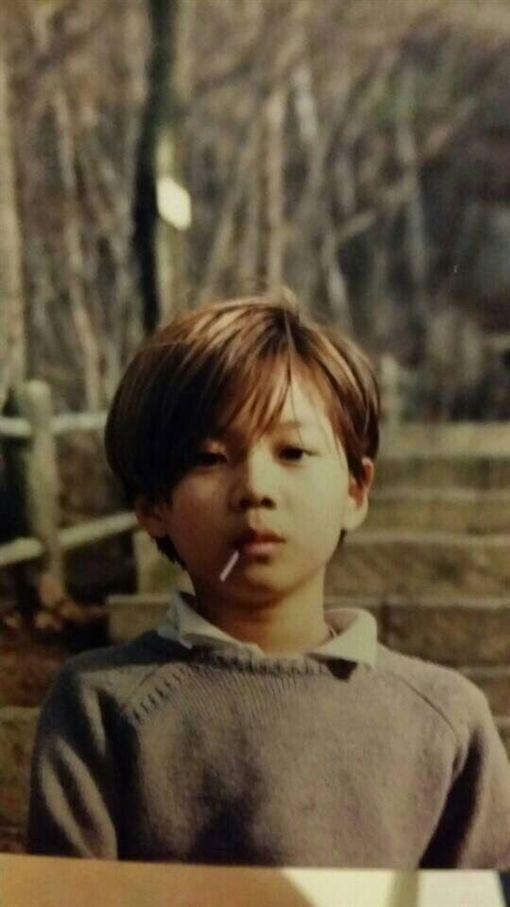 SHINee,泰民,小時候/翻攝自推特