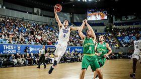 中華隊陳盈駿(圖/取自FIBA官網)
