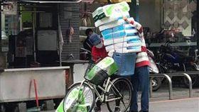 腳踏車,衛生紙,搶購,漲價,戰利品,誇張,瘋搶 圖爆廢公社