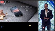 Nokia 翻攝影片 Nokia 8 sirocco