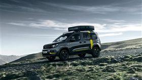 Peugeot Rifter 4x4 Concept輕休旅。(圖/翻攝Peugeot網站)