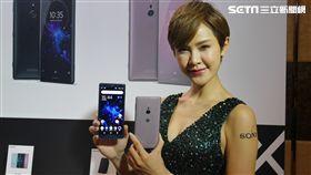 葉立斌攝 Sony Xperia XZ2 compact 旗艦機
