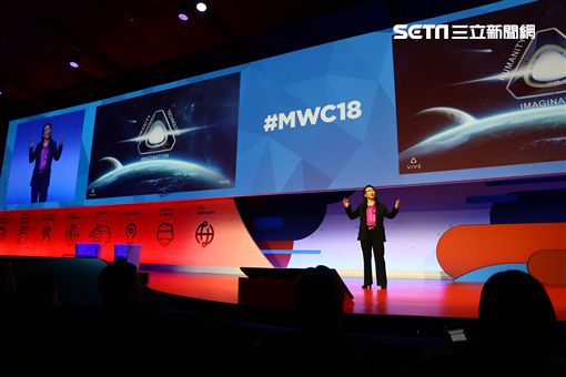MWC 2018,VIVE Reality,VR,AR,5G,HTC,王雪紅