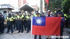反年改團體27日立法院外衝突抗議 圖/記者林敬旻攝