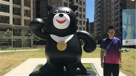 ▲祖爾法里去年在台北世大運拿下銅牌。(圖/翻攝自祖爾法里的IG)