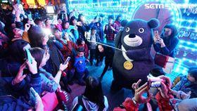 二二八和平紀念日,台北市觀光傳播局,台北燈節,熊讚,快閃,小提燈