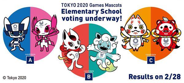 ▲3組奧運吉祥物進行票選。(圖/翻攝自東京奧運臉書)