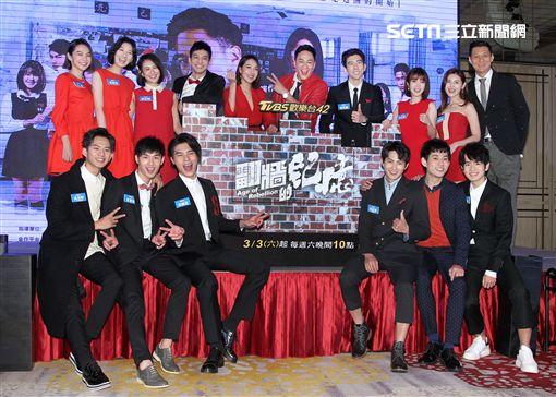 何潤東導演的校園新戲「翻牆的記憶」。(記者邱榮吉/攝影)