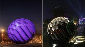 台灣燈會作品「嘉藝之光」遭外國設計師控抄襲。(圖/取自Hugo Reis臉書)