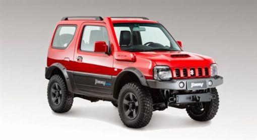 第三代Suzuki Jimny。(圖/翻攝Suzuki網站)