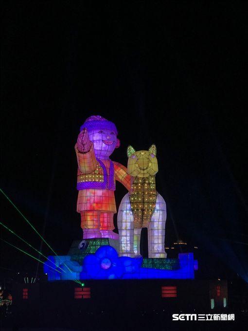 台灣燈會,嘉義,狗年。(圖/觀光局提供)