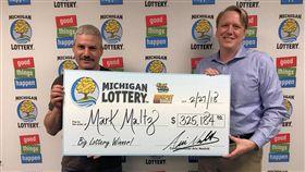 美國,刮刮樂,彩券,樂透,幸運,頭獎(圖/翻攝自臉書Michigan Lottery)https://www.facebook.com/MichiganLottery/photos/a.423587159560.188716.180012029560/10156149508784561/?type=3&theater