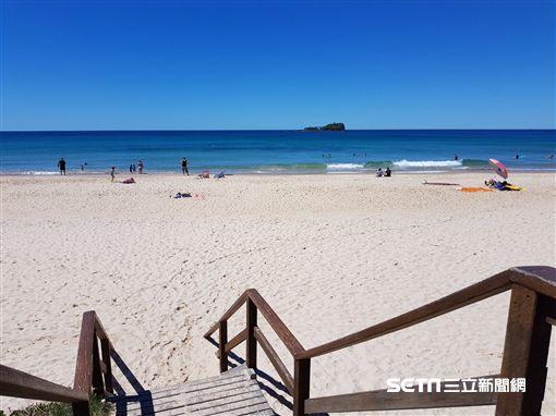 澳洲昆士蘭秘境沙灘,海灘,日光浴(圖/澳洲昆士蘭州旅遊暨活動推行局供給)