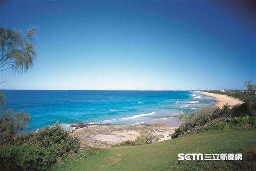 澳洲昆士蘭秘境沙灘,海灘,日光浴(圖/澳洲昆士蘭州旅遊暨勾當推行局提供)