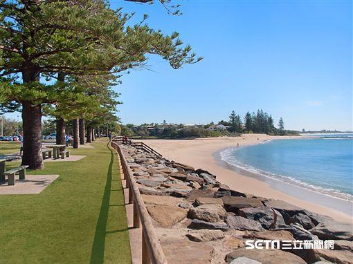 澳洲昆士蘭秘境沙岸,海灘,日光浴(圖/澳洲昆士蘭州旅遊暨舉止推廣局供應)
