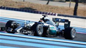 F1 Mercedes-AMG Petronas Motorsport車隊。(圖/翻攝Mercedes-AMG網站)
