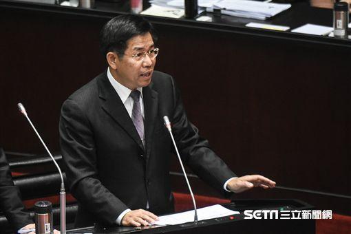 教育部長潘文忠出席立法院質詢。 圖/記者林敬旻攝