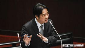 行政院長賴清德赴立法院接受總質詢。 圖/記者林敬旻攝