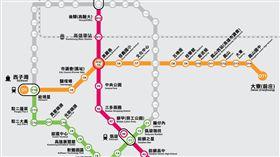 16:9 高雄捷運路線圖 圖/翻攝自高雄捷運 http://www.krtc.com.tw/travel_info/travel-1.aspx
