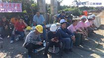 台灣心義工團隊,義工,志工,蓋房子,重建家園(記者郭奕均攝影)