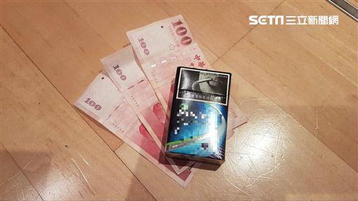 香菸,偷竊,菸酒,抽菸(圖/記者 林盈君攝)