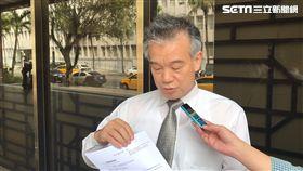 馬偕董事長劉伯恩委任律師陳銘祥。潘千詩攝影