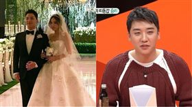 太陽,閔孝琳,勝利/翻攝自微博、SBS YouTube