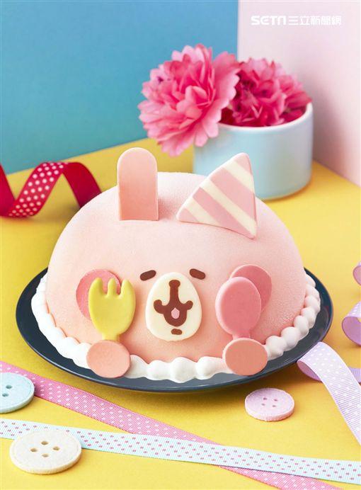 萌經濟,冰淇淋蛋糕,兒童節,Line,卡娜赫拉的小動物,粉紅兔兔歡樂派對