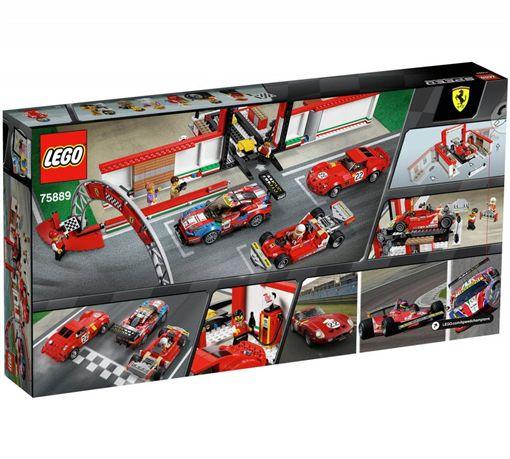 編號45889的Lego Ferrari Ultimate Garage(圖/翻攝Lego網站)。
