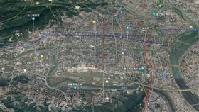 台北市地圖 圖/Google MAP