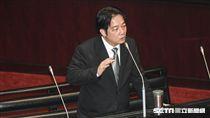 行政院長賴清德6日前往立法院議場進行總質詢。 圖/記者林敬旻攝