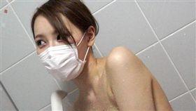 口罩正妹、賣淫示意圖/微博