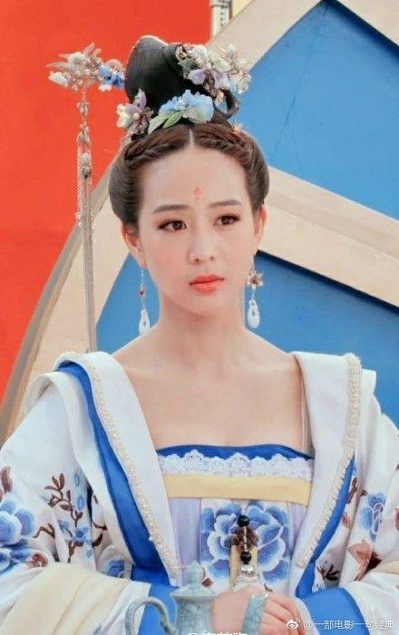 張鈞甯,武媚娘傳奇/翻攝自微博