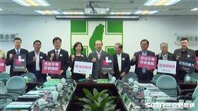 三八婦女節前夕,民進黨中常會代理主席柯建銘召開響應世界所推動的「HeForShe」性別平等活動。(圖/記者李英婷攝)