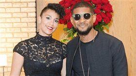 亞瑟小子(Usher),葛芮絲(Grace Miguel)/翻攝自推特