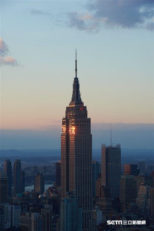 紐約帝國大廈。(圖/booking.com提供)