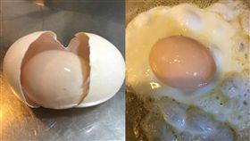 不是個案?澳洲農場打出神奇「蛋中蛋」 台灣又有人發現 圖/翻攝自PTT https://www.ptt.cc/bbs/Gossiping/M.1520506288.A.029.html