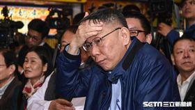 (一天重複三次,不要再用了)台北市長柯文哲出席南門市場年菜記者會。 圖/記者林敬旻攝