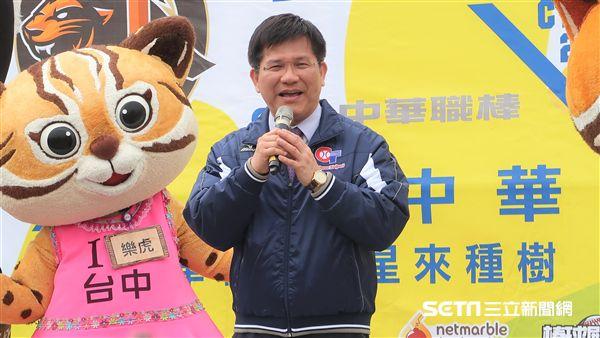 台中市長林佳龍。(圖/記者王怡翔攝)