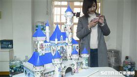 立法委員蘇震清的迪士尼。 圖/記者林敬旻攝