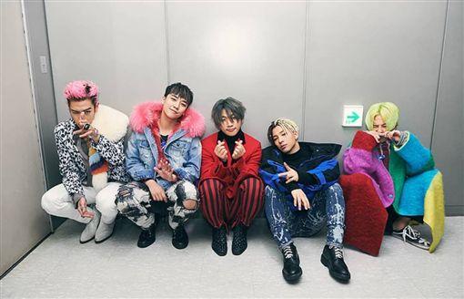 在成員大聲入伍前,YG娛樂宣布發表新歌。(圖/翻攝自IG)