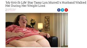 美國,肥胖,穆瑞爾,Tamy Lyn Murrell(圖/intouchweekly http://www.intouchweekly.com/posts/my-600-lb-life-tamy-155607?utm_source=twitter&utm_medium=tweet&utm_campaign=socialshare)