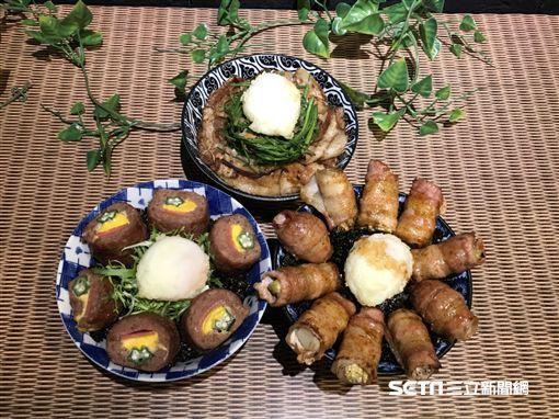 連鎖燒肉丼業者「開丼」新品。(圖/記者簡佑庭攝)
