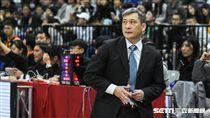 HBL男子組松山高中vs東山高中,總教練黃萬隆。 圖/記者林敬旻攝
