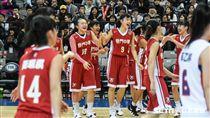 HBL女子四強滬江高中vs普門高中。 圖/記者林敬旻攝