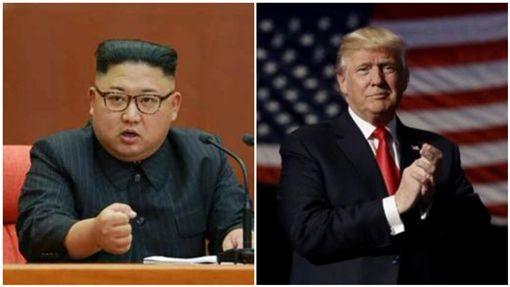 世紀大和解?北韓允諾會談前不射飛彈 川普:我相信金正恩合成圖/翻攝自北韓勞動新聞網、川普推特