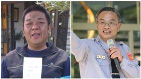 孝警養家29年病逝 市警局長霸氣嗆「他就是因公死亡!」 合成圖/翻攝畫面、阿仁局長室臉書