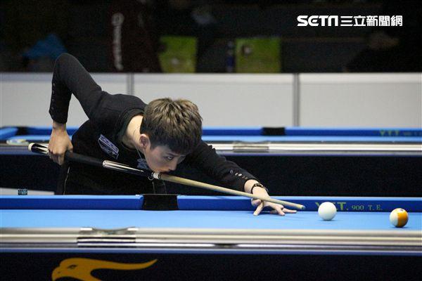 ▲台灣撞球女將郭思廷於安麗盃8強止步。(圖/記者蔡宜瑾攝影)